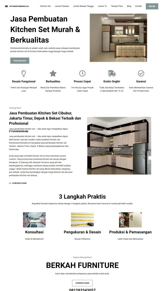 kitchensetminimalis.id